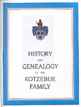 History and Genealogy of the Kotzebue Familiy