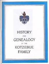History and Genealogy of the Kotzebue Familiy